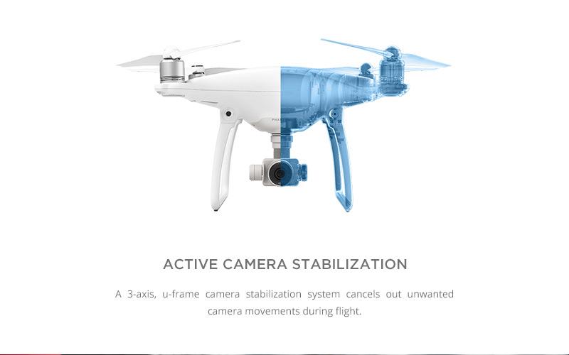 phantom 4 camera stabilization